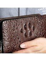 Как выбрать мужской кошелек из кожи крокодила?