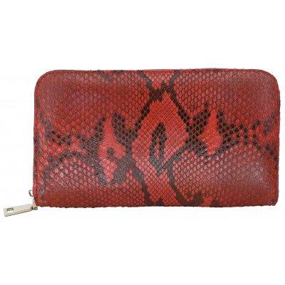 Гаманець жіночий зі шкіри пітона PTWI 011/65 Ex. , фото