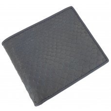 Портмоне зі шкіри пітона PT 03 Black