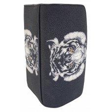 Кошелек женский из кожи ската ST 52 ART Tiger