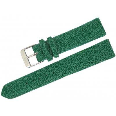 Ремешок для часов из кожи ската STWS 01 Green , фото