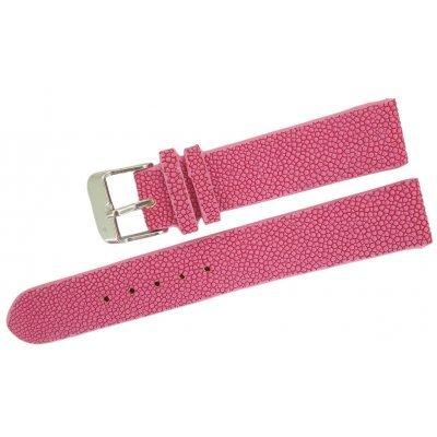 Ремешок для часов из кожи ската STWS 01 Pink , фото