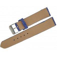 Ремешок для часов из кожи ската STWS 04 SA Blue
