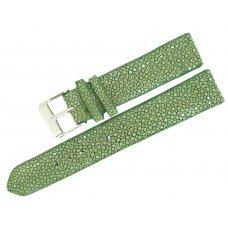 Ремешок для часов из кожи ската STWS 04 SA Green