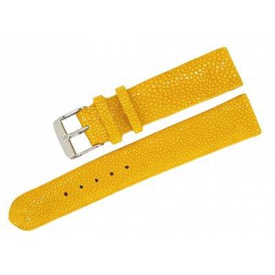 Ремешок для часов из кожи ската STWS 04 SA Yellow , фото