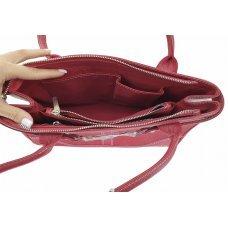Сумка жіноча зі шкіри ската ST 795 KS Red