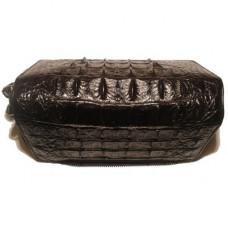 Кошелек из кожи крокодила черный MHB 20 T