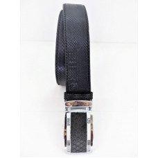 Ремінь зі шкіри пітона чорний 105 PTB Black 2