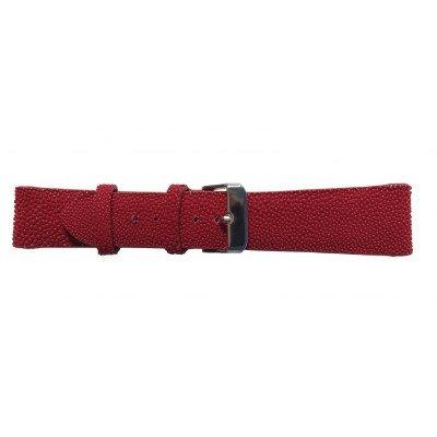 Ремешок для часов из кожи ската красный STWS 01 Red , фото