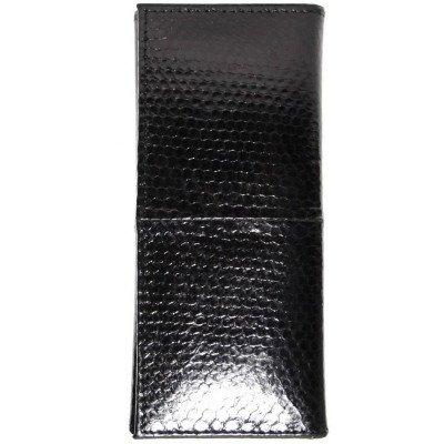 Ключниця зі шкіри морської змії чорна SNKH 01  Black , фото