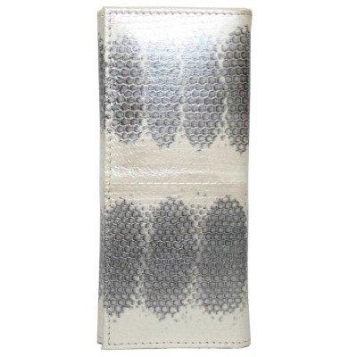 Ключница из кожи морской змеи SNKH 01 Pearl
