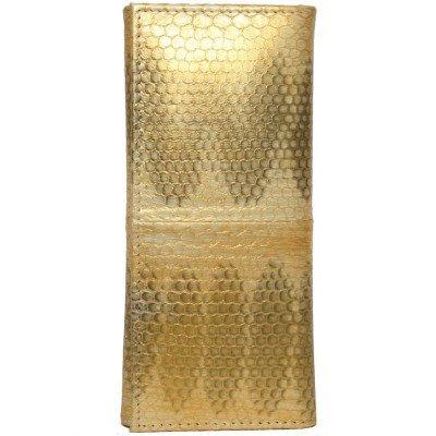 Ключница из кожи морской змеи SNKH 01 Gold , фото