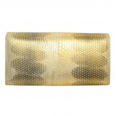 Кошелек женский из кожи морской змеи SN 53 Gold