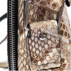 Сумка мужская из кожи питона PTHM 103 Natural