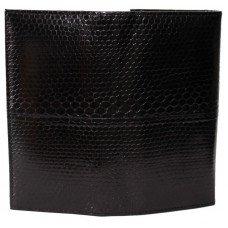 Кошелек женский из кожи морской змеи черный SN 53 Black