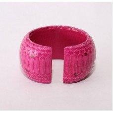 Браслет з шкіри пітона WSBR 40 Pink