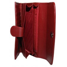 Кошелек женский из кожи ската красный ST 52 SA Red