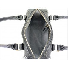 Сумка жіноча зі шкіри ската чорна STB 012 Kamelia
