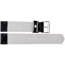 Ремінець для годинника зі шкіри ящірки LIZWS 01 Black
