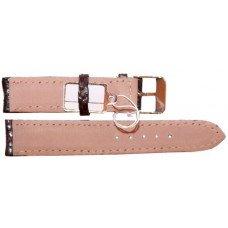 Ремінець для годинника зі шкіри морської змії коричневий SNWS 01 Brown