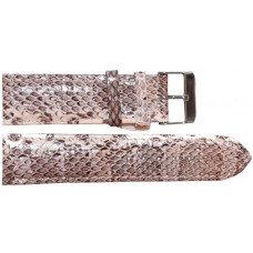 Ремінець для годинника зі шкіри морської змії білий SNWS 01 Natural