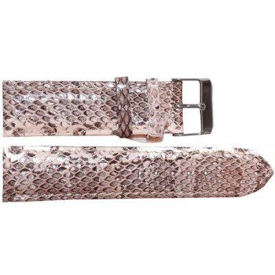 Ремінець для годинника зі шкіри морської змії білий SNWS 01 Natural , фото