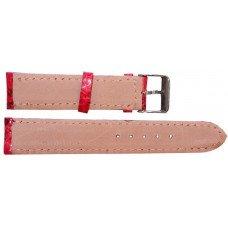 Ремешок для часов из кожи морской змеи красный SNWS 01 Red