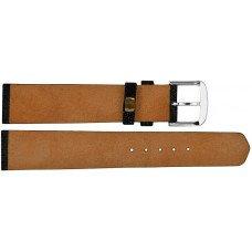Ремінець для годинника зі шкіри ската чорний STWS 02 Black