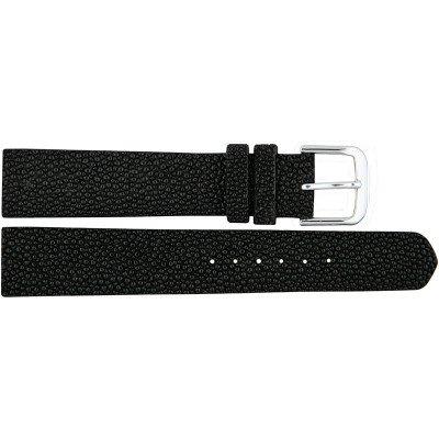Ремешок для часов из кожи ската черный STWS 01 Black , фото