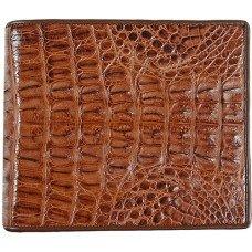 Кошелек мужской из кожи крокодила коричневый USCM8T Brown